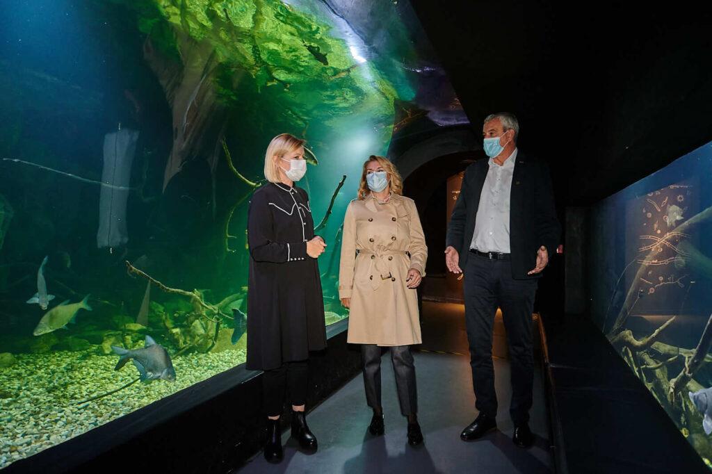 Ministrica Nikolina Brnjac posjetila Aquatiku